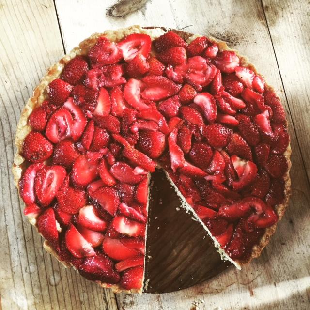 Maple Strawberry Mascarpone Tart | Butternut Mountain Farm